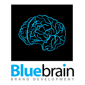 Blue Brain Design Logo Design