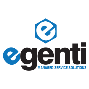 Egenti Managed Service Solutions Logo Design