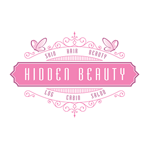 Hidden Beauty Salon Logo Design