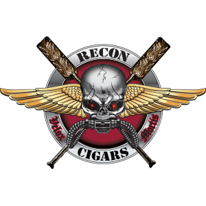 Recon Cigars Logo Design