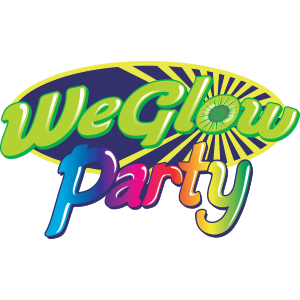 We Glow Party Logo Design
