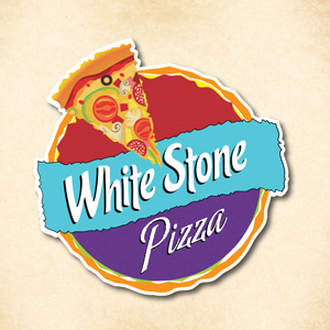 Whitestone Pizza Logo Design