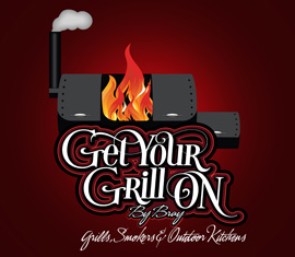 From Our Portfolio, Brays Get Your Grill On Brand Development and Logo Design
