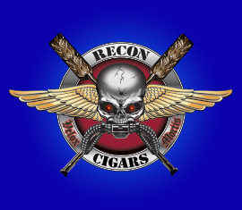 From Our Portfolio, Recon Cigars Brand Development and Logo Design