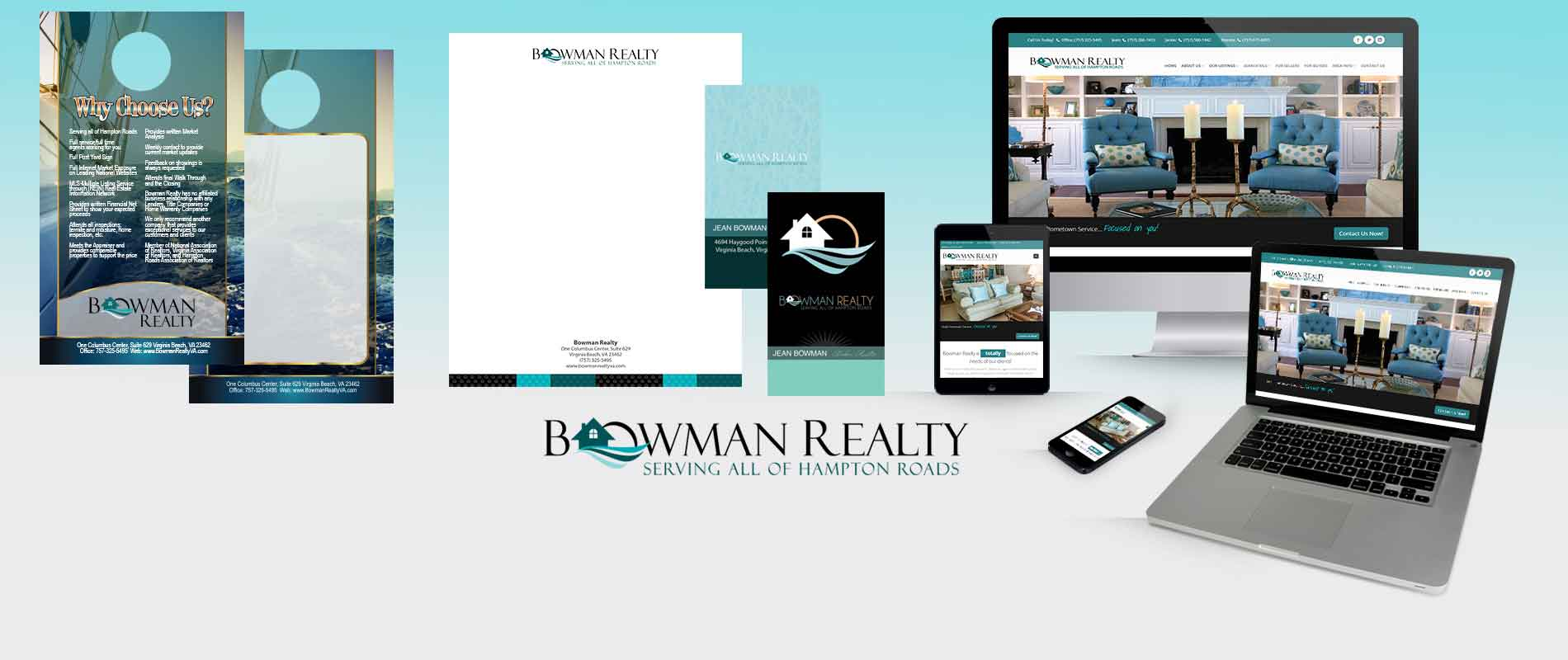Bowman Realty Brand Development and Logo Design