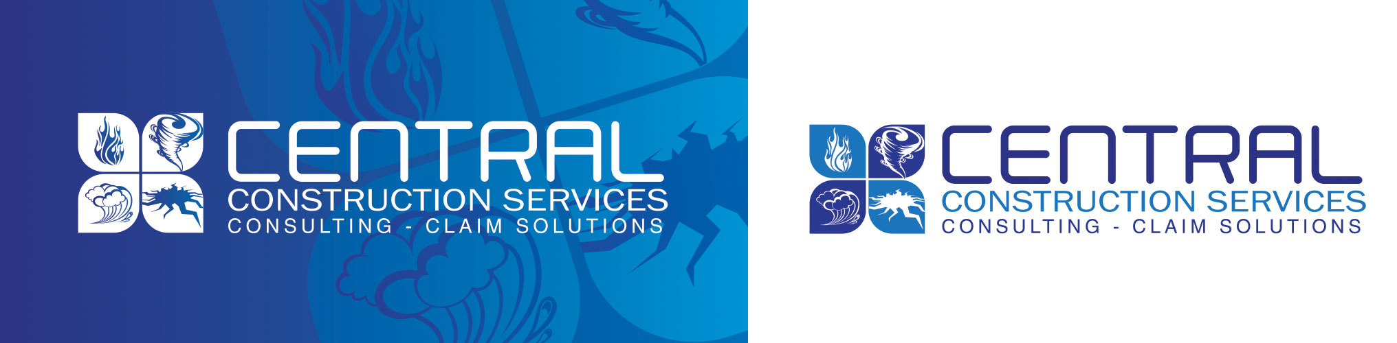 Central Construction Services Brand Development and Logo Design