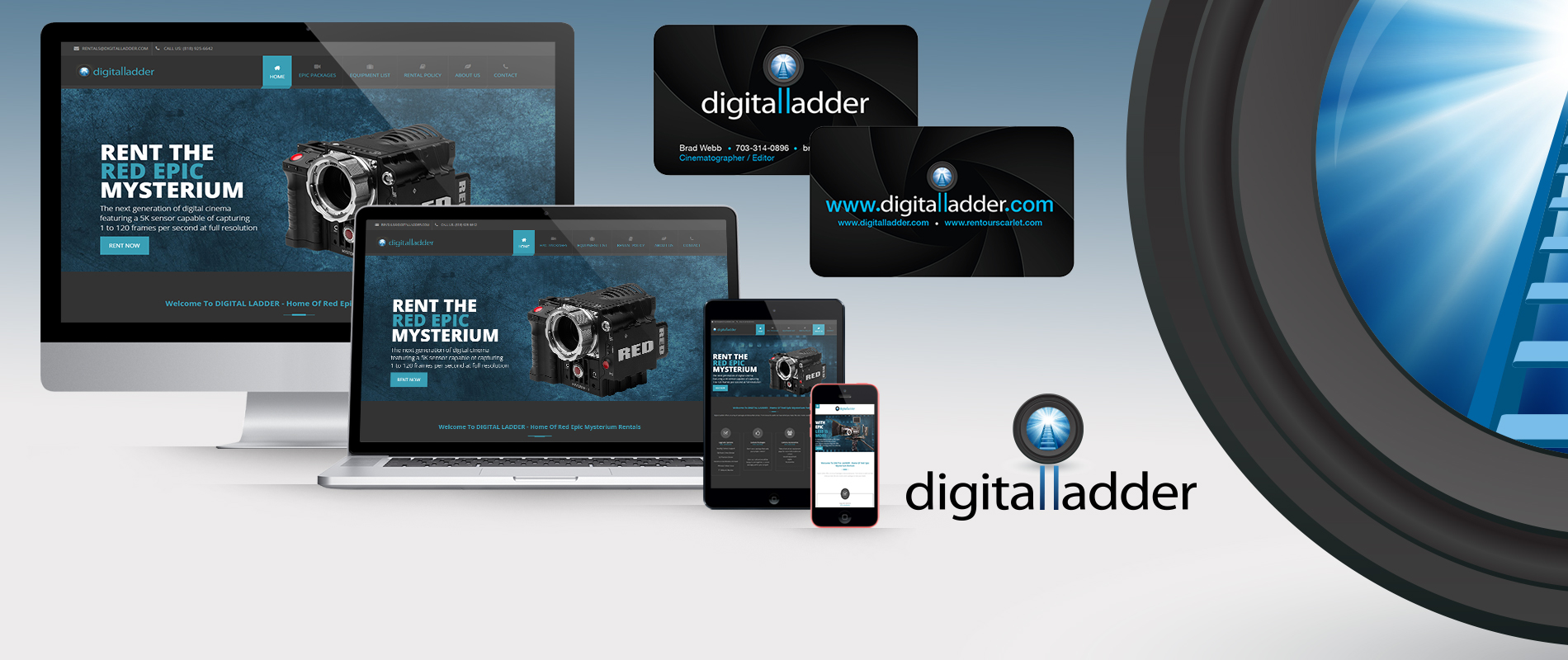 Digital Ladder Brand Development and Logo Design