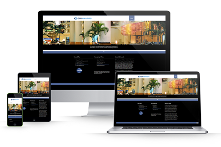 CDI Awards Marriott Awards HTML Website